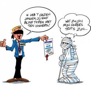 TypeApp cartoon